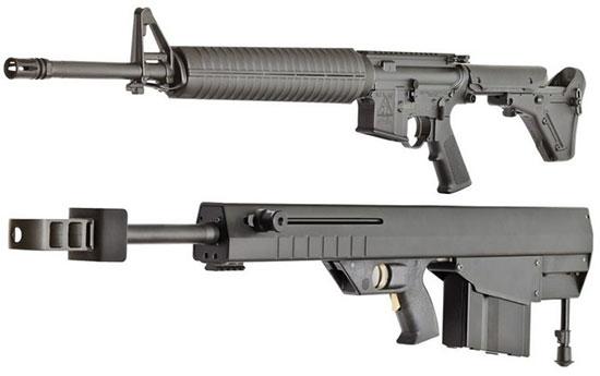 Leader 50 A1 и AR-15