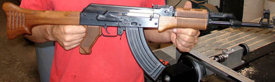 Приклад от MG цевье от FG будет вам AK