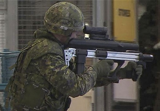 Colt Canada's Next Generation Bullpup Prototype Rifle
