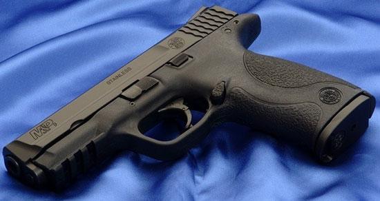 Разрабатываемый пистолет будет построен на базе S&W M&P9