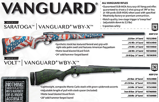 Weatherby Vanguard
