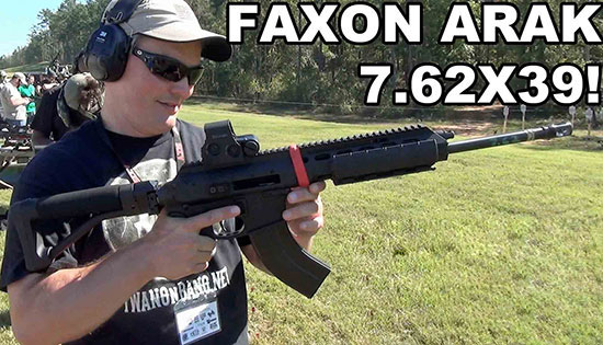 Faxon Firearms 7.62×39 Kit ARAK-21 Rifle Platform