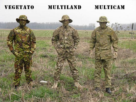 Multicam – универсальный маскировочный камуфляж под любую окружающую среду