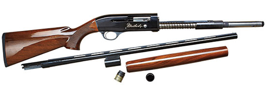 Weatherby SA-08 Deluxe 28 Gauge semi-auto shotgun