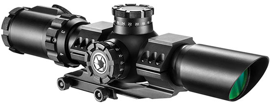 AC12138 - 1-6x32 IR SWAT-AR Rifle Scope by Barska