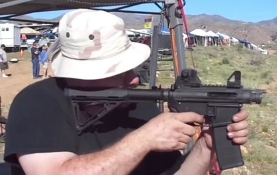 High Caliber Conversions AR-15