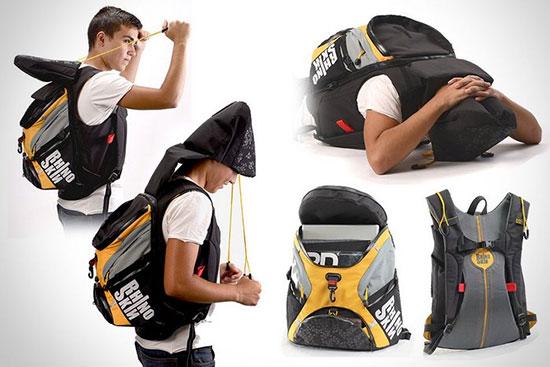 Защитный рюкзак из кевлара Rhino Skin