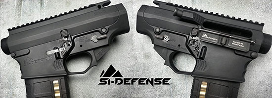 SI Defense Shipping Mirrored Ambi AR Receiver Sets