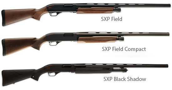 Winchester SXP Pump Shotguns in 20 Gauge Models