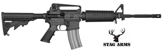 Stag Arms 300 Blackout AR-15 Rifles