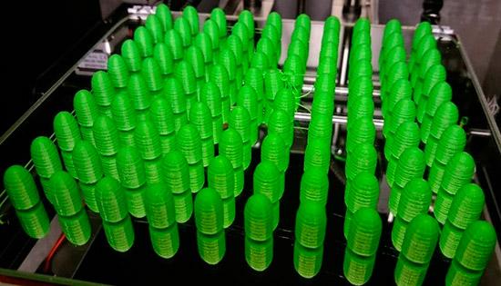 пули калибра 9 мм, напечатанные на 3D-принтере
