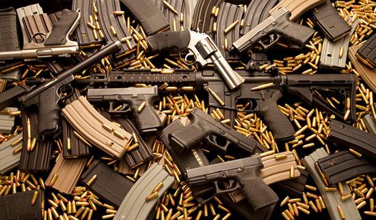 В Бельгии свыше 300 тысяч единиц оружия пропали из реестра