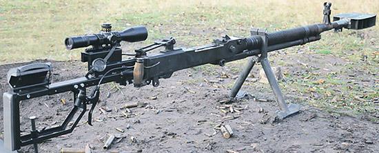 Снайперская винтовка, переделанная из пулемета ДШК