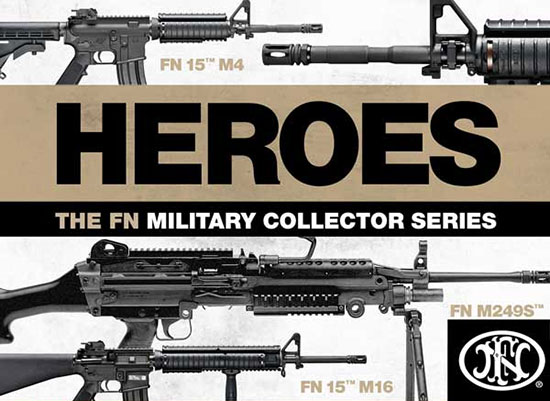 FNH USA Introduces New Military Collector Series Firearms