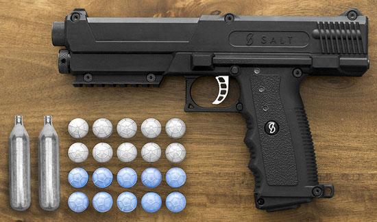 Пневматический пистолет Salt