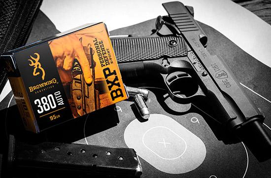 Пистолетные патроны Browning