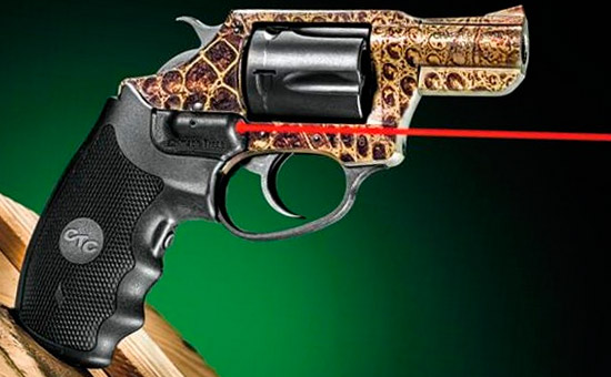 Револьвер Charter Arms Gator с ЛЦУ Crimson Trace Lasergrips