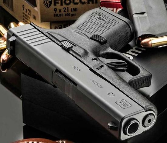 Glock 43 9×21 IMI