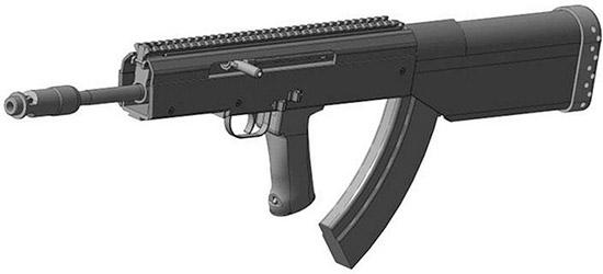 На выставке инноваций КПИ представила проект штурмовой винтовки