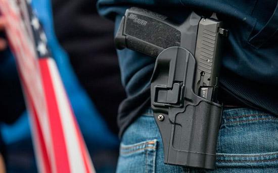 В Техасе разрешили открытое ношение оружия в общественных местах