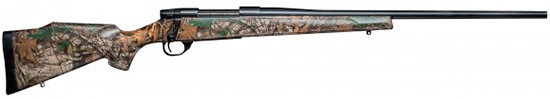 Weatherby Vanguard Rifle in Realtree Xtra Camo