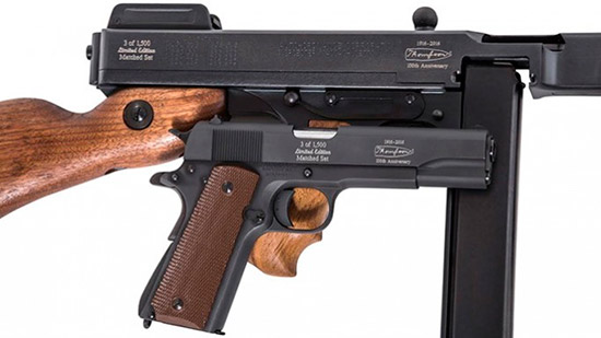 Auto Ordnance Releases 100th Anniversary 1927A-1 Rifle, 1911A1 Pistol