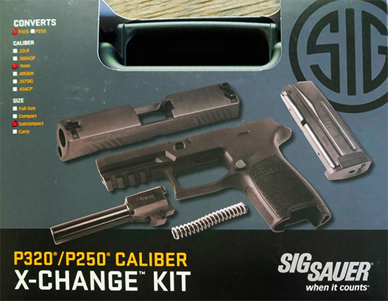 Sub-Compact X-Change Kit