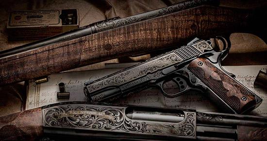 Model 870, Model 700, Model 1911 R1