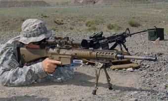Полуавтоматическая снайперская винтовка M110