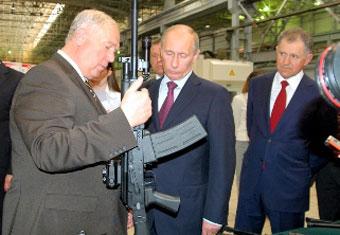 Владимир Путин на «Ижмаше»