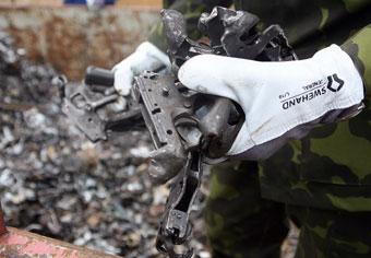 В Боснии уничтожат гору оружия
