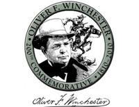 медальон с портретом Оливера  Винчестера