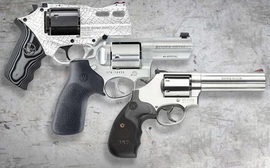 Револьверы для самообороны и спорта