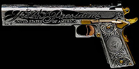 Donald Trump Gun