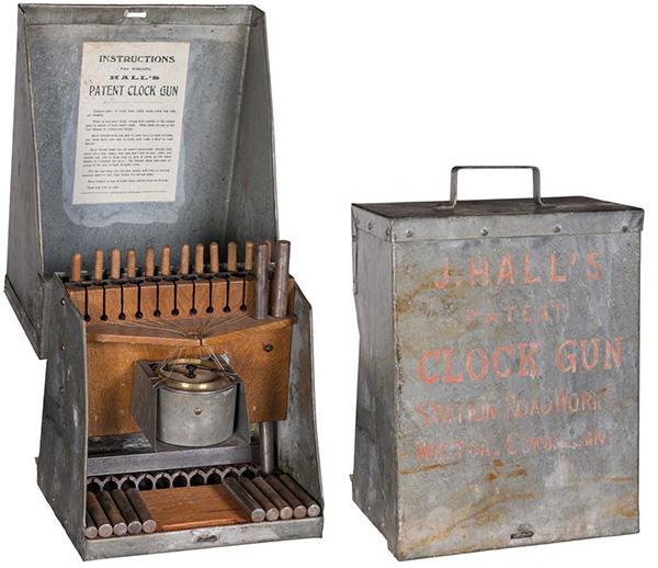 Hall's Patent Clock Gun