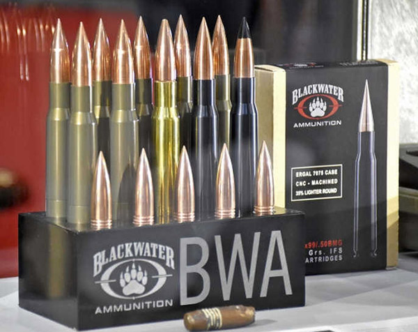 Blackwater Ammunition .50 BMG