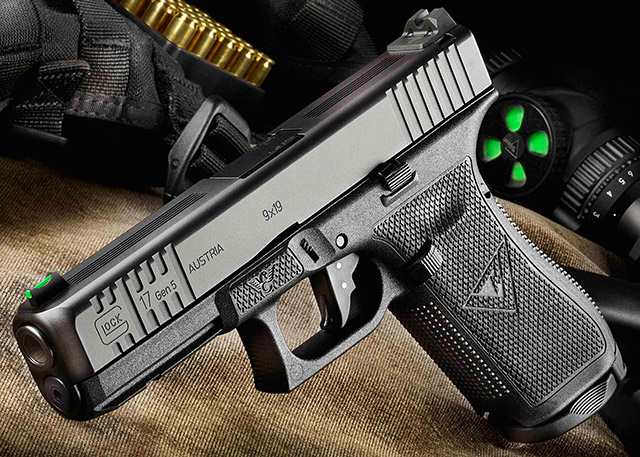 Vickers Elite Package на Glock 17