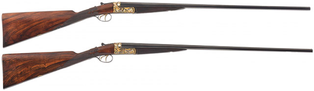 #1 – $135300 – Westley Richards .410 «Hummingbird»