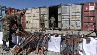Рособоронэкспорт поставляет Афганистану стрелковое оружие для полиции