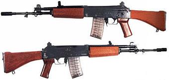 индийская штурмовая винтовка INSAS калибра 5.56 мм