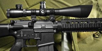 Barska 4-16x50 IR Green Mil-dot Sniper