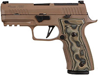 SIG Custom Works P320 AXG Scorpion