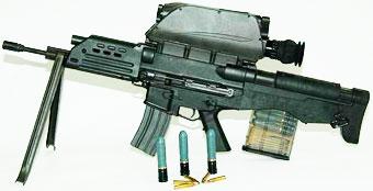 комбинированная штурмовая винтовка/гранатомет K-11