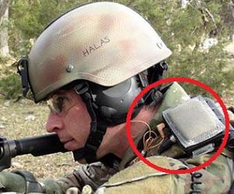 Наплечная акустическая система SWATS