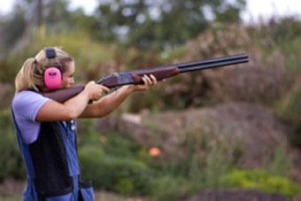 Новое стрельбище - только для женщин