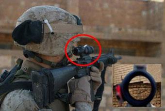 Разработан суперприцел, превращающий солдат в снайперов