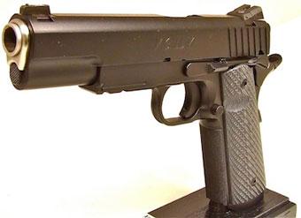 Vigilum - версия пистолета 1911 от AdeQ Firearms