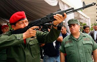 Производство автоматов АК-103 в Венесуэле начнется в 2012 году