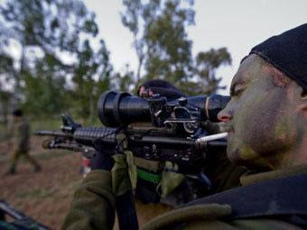 Израильский снайпер