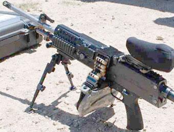Пулемет LSAT LMG на 4 кг легче нынешнего M249, но обладает той же огневой мощью